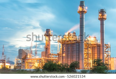 Architecture of Industry boiler in Oil Refinery Plant #526021534