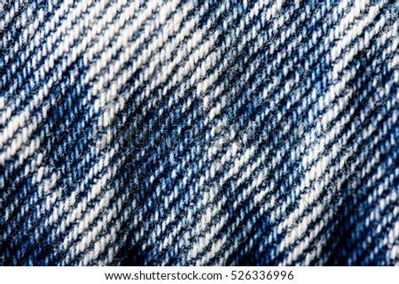 Modern Jeans Texture Background #526336996