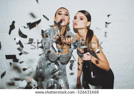 Girls in confetti #526631668