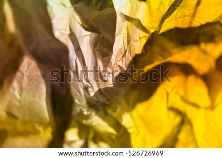 Wrinkled paper texture, colorful background #526726969