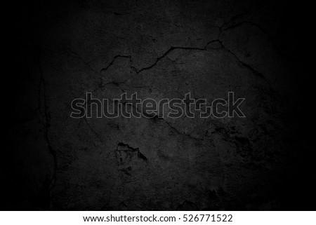 Old black background. Grunge texture. Blackboard.  #526771522