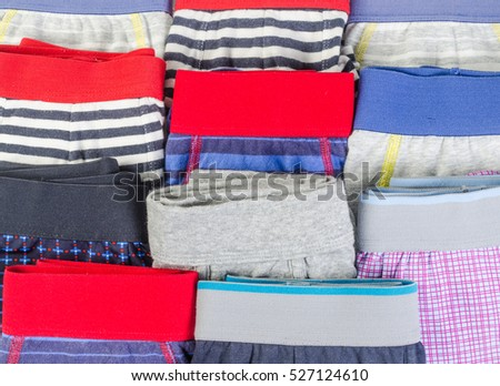 background of men underwear isolated on white background,underpants for men #527124610