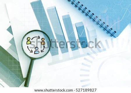 Human resource management , risk management concept