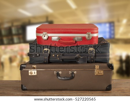 Travel suitcase at airport #527220565