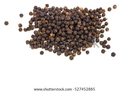 Black pepper grain  #527452885