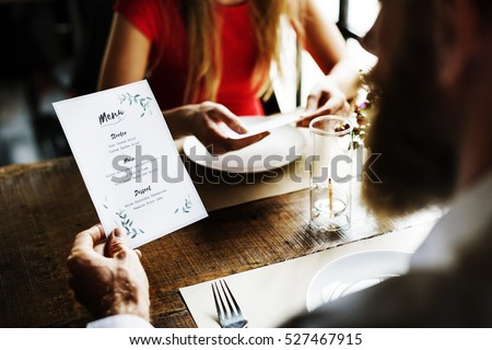 Restaurant Chilling Out Classy Lifestyle Reserved Concept Royalty-Free Stock Photo #527467915