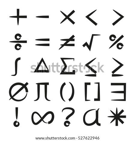 math icons set #527622946