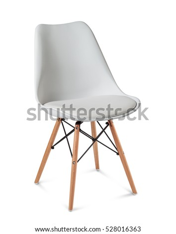 comfortable chair, for work and relax, isolated  #528016363