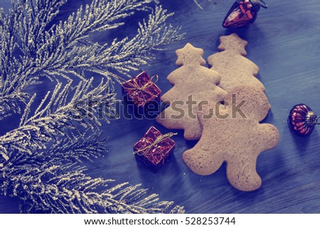 Christmas decorations, gingerbread #528253744