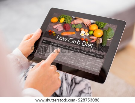 Low Carb Diet Royalty-Free Stock Photo #528753088