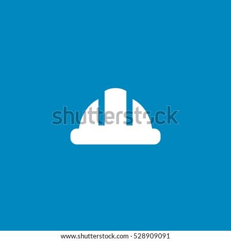 construction helmet icon, isolated, white background #528909091