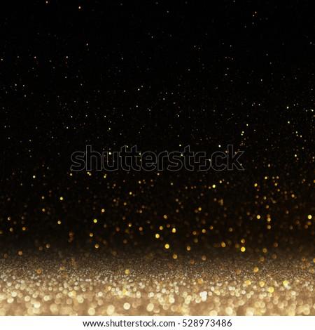 glitter lights background. defocused. Royalty-Free Stock Photo #528973486