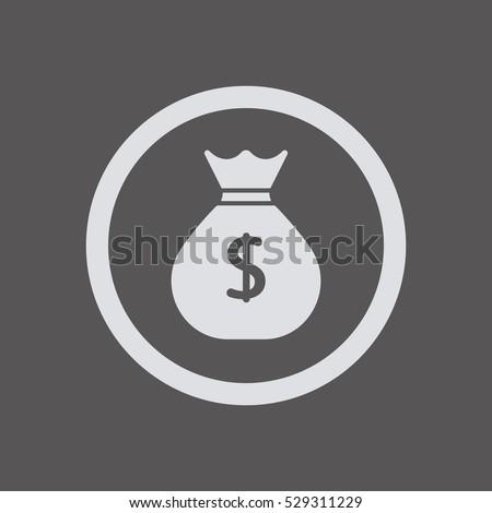 Money   icon,  isolated. Flat  design.   #529311229