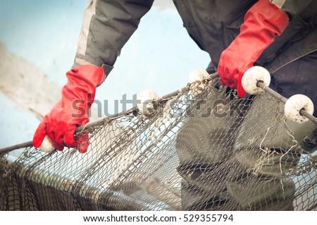 Fishermen at Work Royalty-Free Stock Photo #529355794