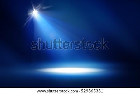Studio Spotlight Background Royalty-Free Stock Photo #529365331