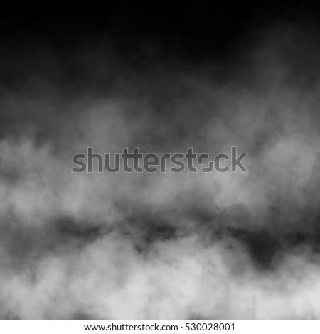 Fog and mist effect on black background. #530028001