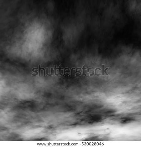 Fog and mist effect on black background. #530028046