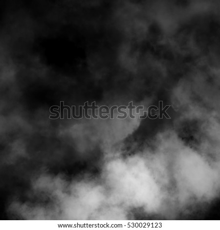 Fog and mist effect on black background. #530029123