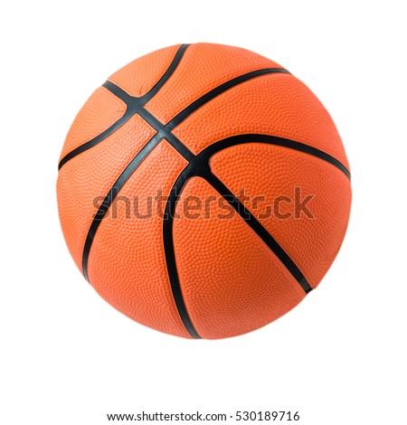 Basketball isolated. #530189716