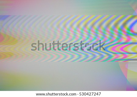 LCD Screen glitch. TV error texture screen background, Static television, Glitch noise effect, Colorful technology texture background