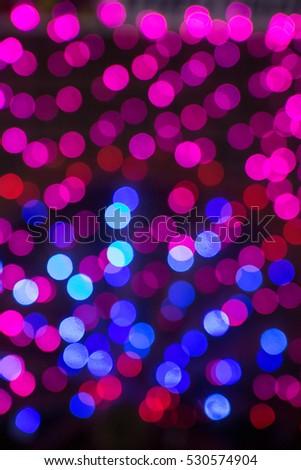 glittering stars on bokeh. Christmas background #530574904