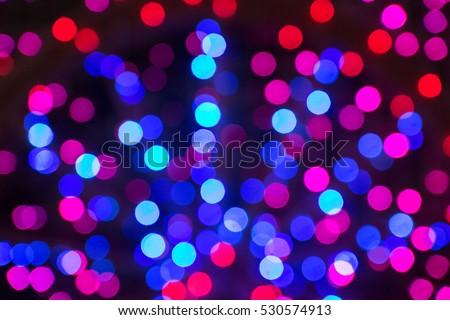 glittering stars on bokeh. Christmas background #530574913