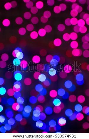 glittering stars on bokeh. Christmas background #530574931