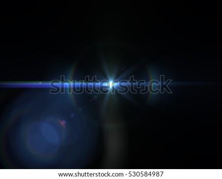Lens flare light #530584987