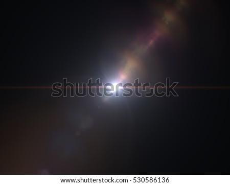 Lens flare light #530586136
