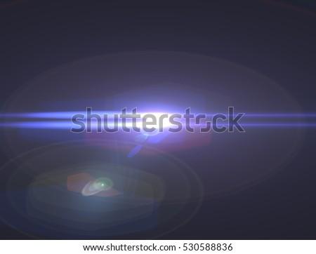 Lens flare light #530588836