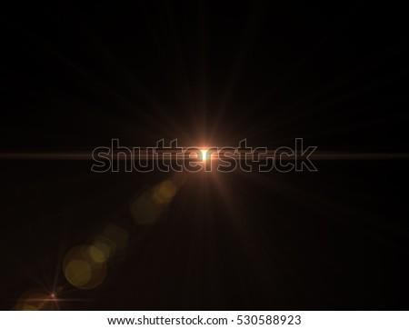 Lens flare light #530588923