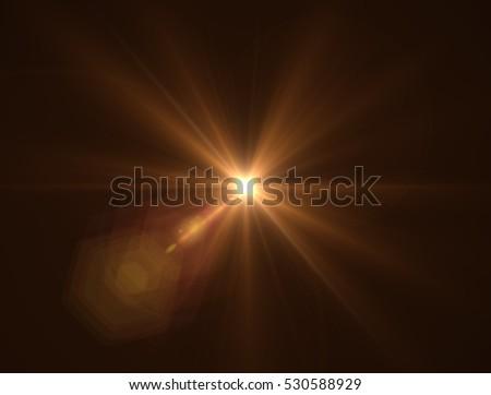 Lens flare light #530588929