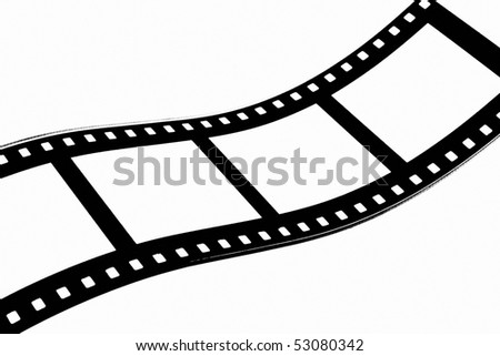 Abstract simulated film strip background design.