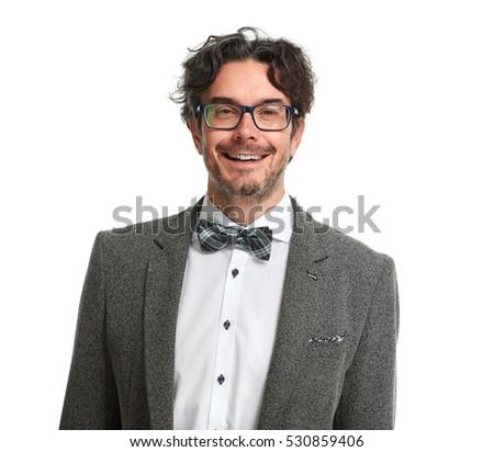 Stylish smiling man. #530859406