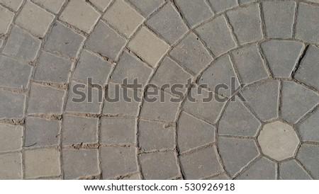 Concrete patterned #530926918