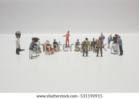 the fun of figure in miniature world  #531190915