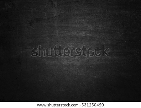 Chalkboard.Old black background. Grunge texture. Blackboard. Concrete