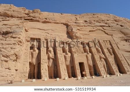 Abu SImbel monuments #531519934