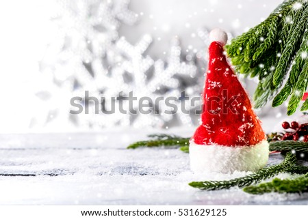 Merry Christmas and Happy New year, winter concept #531629125