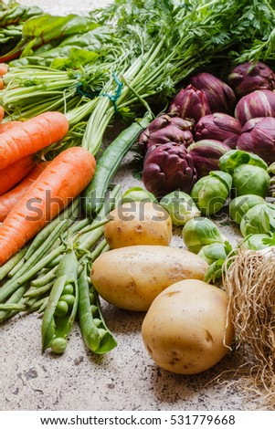 fresh vegetables #531779668