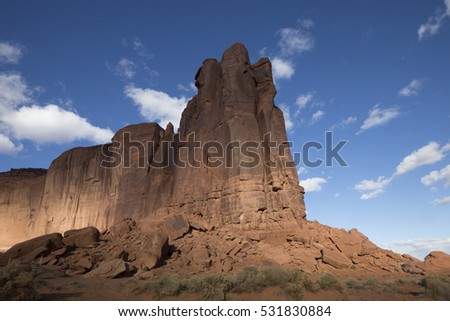 Monument Valley National Park in Arizona #531830884