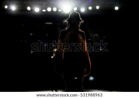 Fashion Show, Catwalk Runway Show Event, fashion week themed photograph.