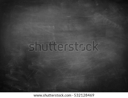 Chalk rubbed out on blackboard  Royalty-Free Stock Photo #532128469