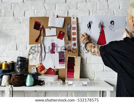Fashion Designer Stylish Showroom Concept