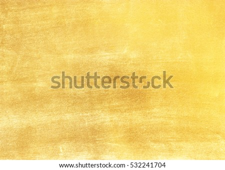Shiny hot yellow gold golden color decorative texture paper #532241704