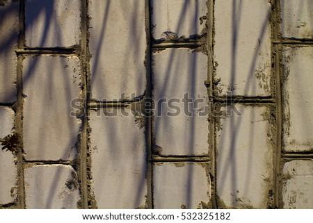 gray brick wall background #532325182