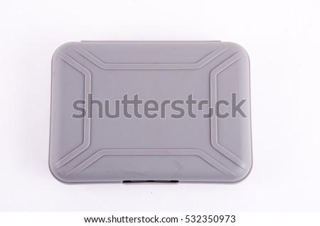 Box hard case on white #532350973