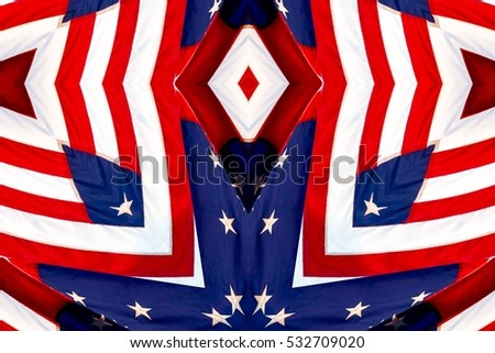 abstract design in various shades of red, white and blue colors  #532709020