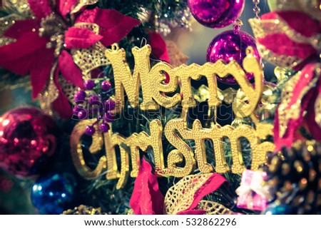Merry christmas and happy new year #532862296