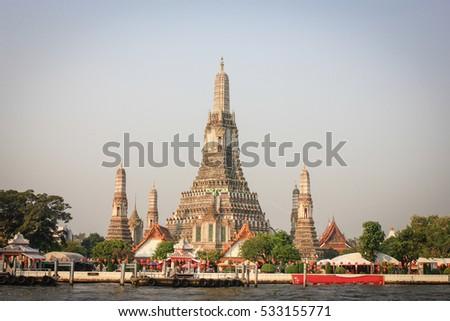 Wat Arun, Bangkok, Thailand #533155771